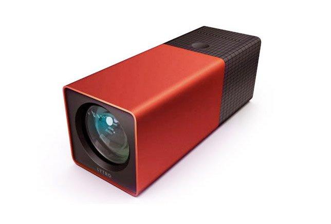 L'appareil photo Lytro, aux formes peu conventionnelles....