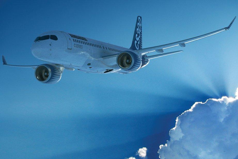Un CS300 de Bombardier.... (Image fournie par Bombardier)