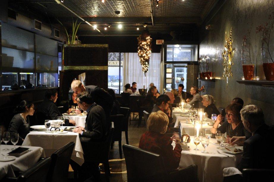 Même si la cuisine de La Porte est... (Photo Bernard Brault, La Presse)