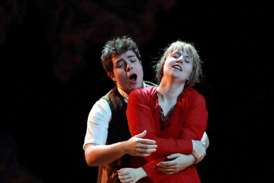 Carol Léger dans le rôle de Mélisande et... (Photo fournie par l'UdM)