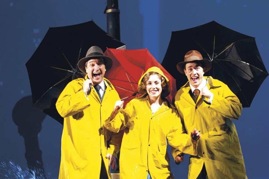 René Simard, Marilou Morin et Renaud Paradis.... (Photo fournie par la production)