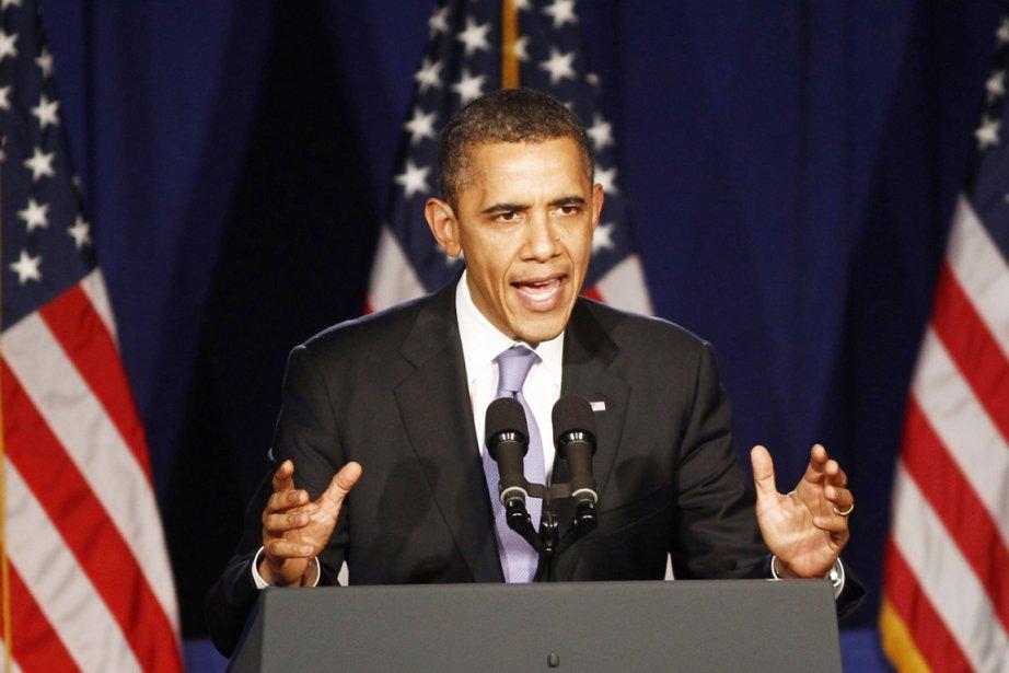 «Quand nous disons que nous n'excluons aucun moyen... (Photo: Kevin Lamarque, Reuters)