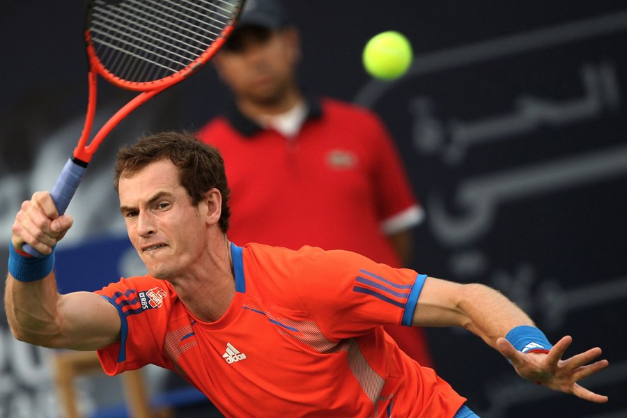 Andy Murray a infligé à Novak Djokovic sa... (Photo: AFP)