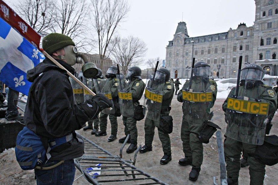 Les étudiants se sont récemment rassemblés à Québec... (Photo: Pascal Ratthe, Le Soleil)