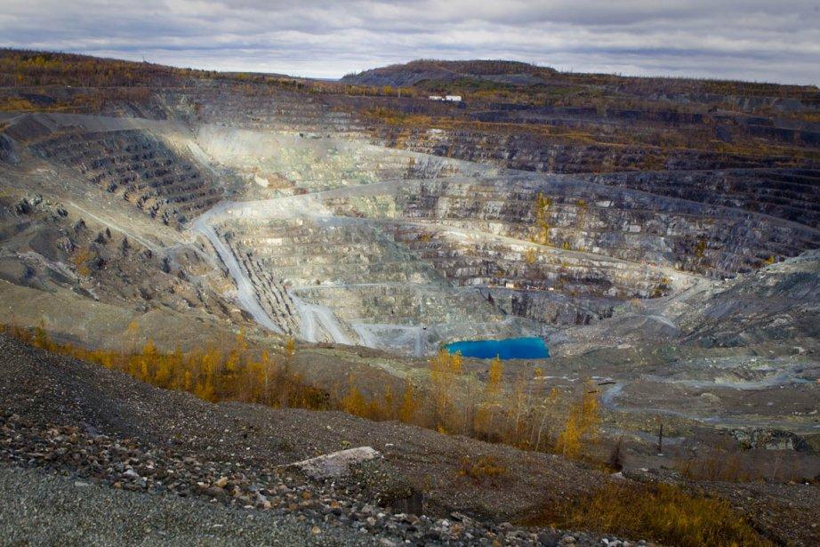 La mine d'amiante Jeffrey.... (Photo: André Pichette, La Presse)