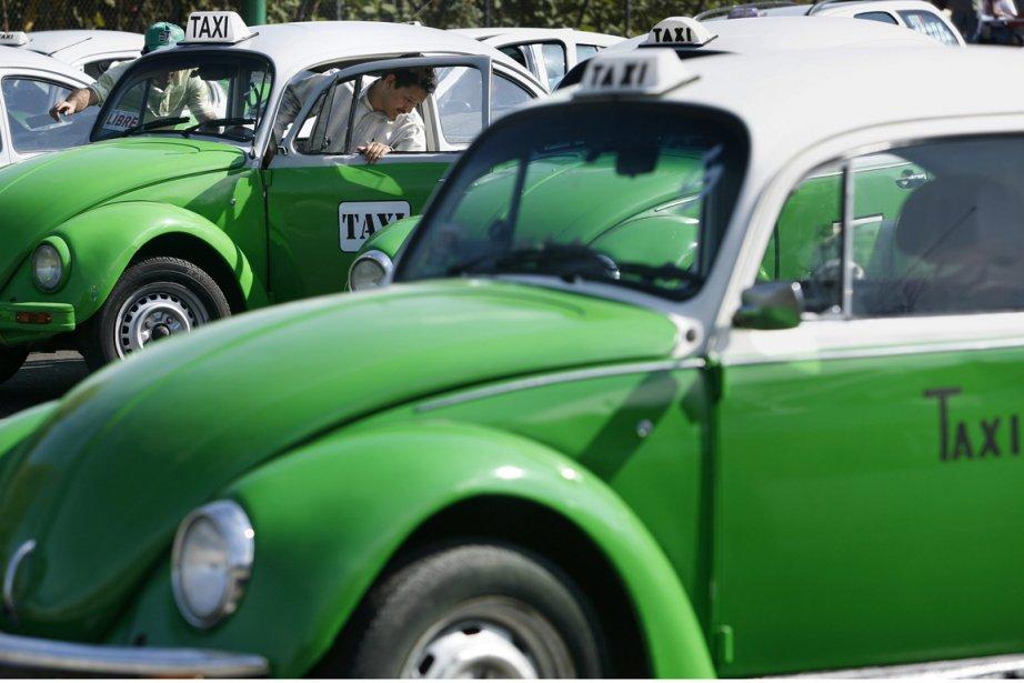 Les permis de taxis des derniers modèles en... (Photo : Gregory Bull, AP)