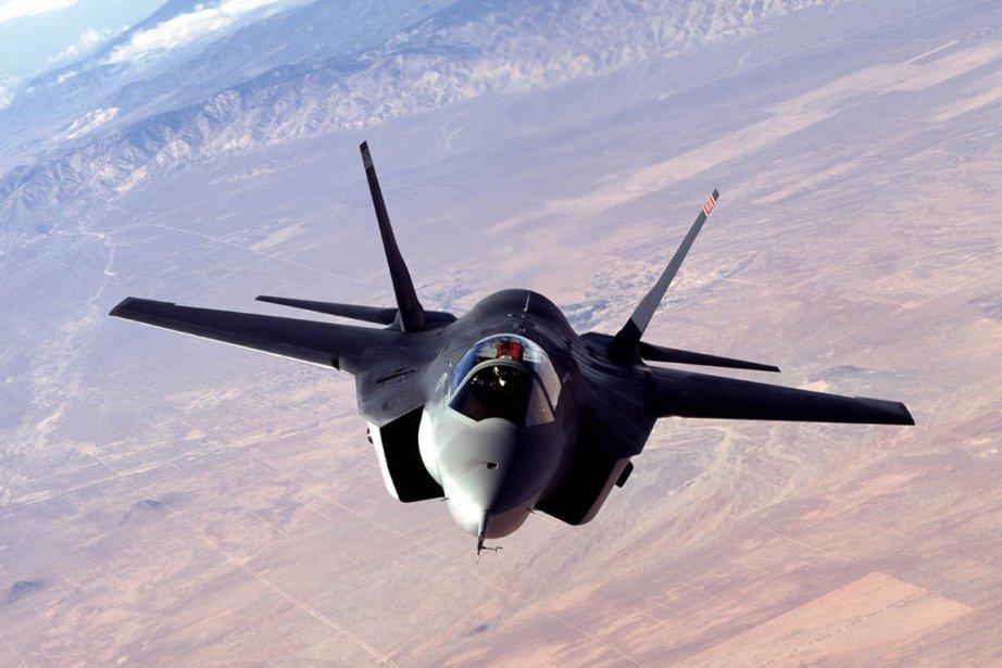 Le Canada compte acheter 65 avions F-35 pour... (Photo : archives AFP)