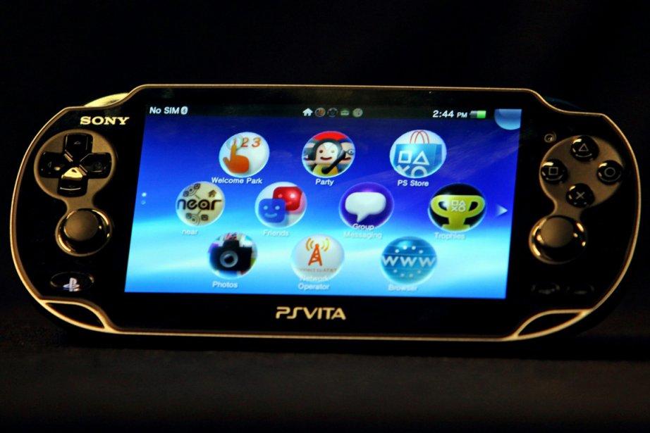 La PlayStation Vita.... (Photo Associated Press)
