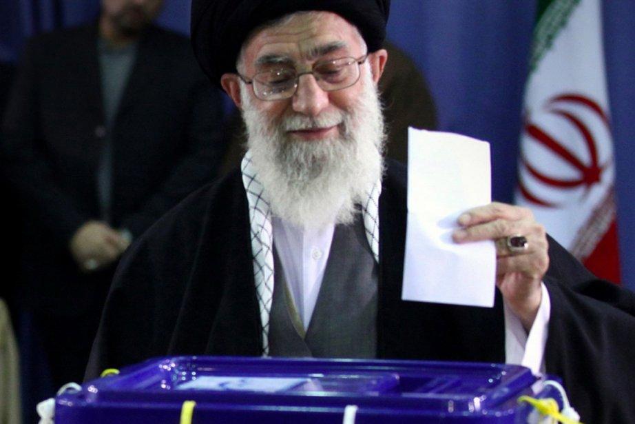L'ayatollah Ali Khamenei.... (Photo AFP)