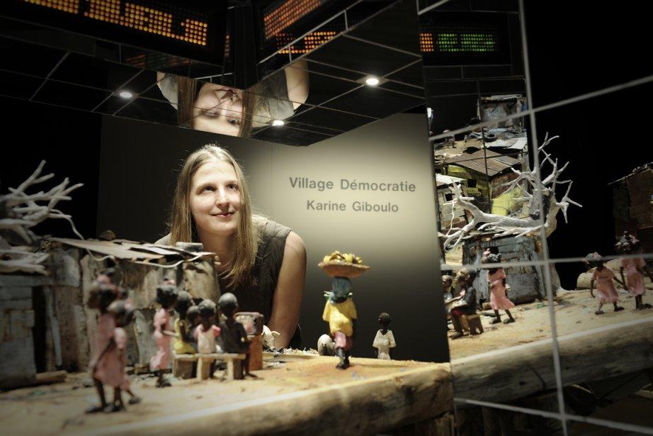 Karine Giboulo est dotée d'une conscience sociale aiguë.... (Photo Bernard Brault La Presse)