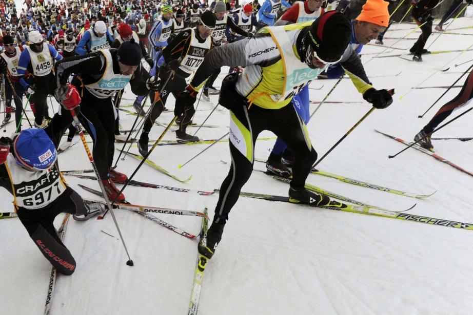 Le Suédois Jörgen Brink a remporté dimanche la Vasaloppet pour la deuxième...