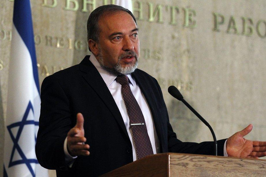 Le ministre israélien des Affaires étrangères, Avigdor Lieberman.... (Photo: Reuters)
