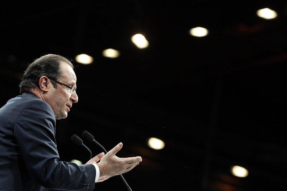 François Hollande, candidat socialiste pour l'élection présidentielle française... (Photo: AP)