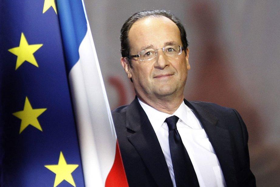 François Hollande, candidat socialiste pour la présidence de... (Photo AP)