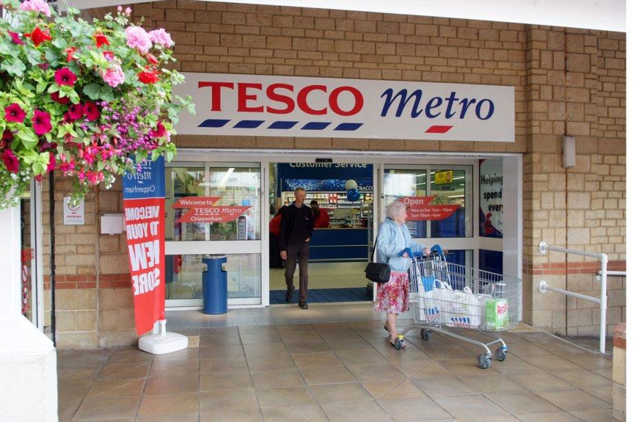 La chaîne de supermarchés Tesco, numéro un de la... (Photo fournie par Tesco)
