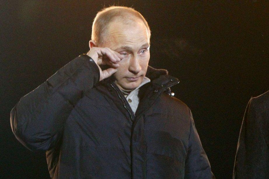 L'homme fort de la Russie Vladimir Poutine était... (Photo: Mikhail Voskresensky, Reuters)