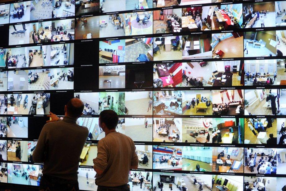 Malgré un dispositif de surveillance par web cams... (Photo: Natalia Kolesnikova, AFP)