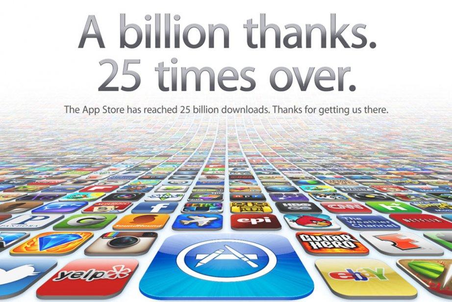 Voici le message que l'on peut voir sur... (Photo: Apple)