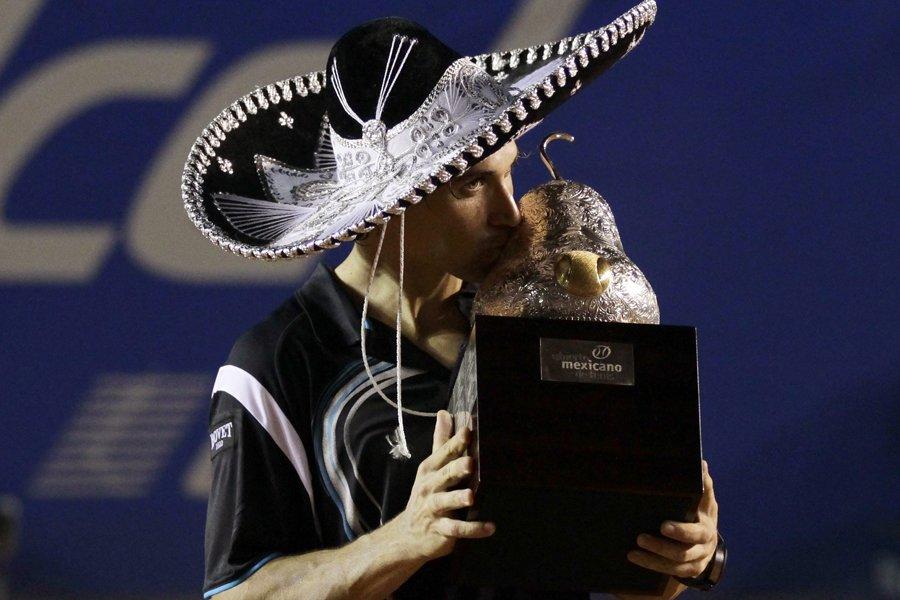 L'Espagnol David Ferrer a remporté le tournoi d'Acapulco... (Photo: Reuters)