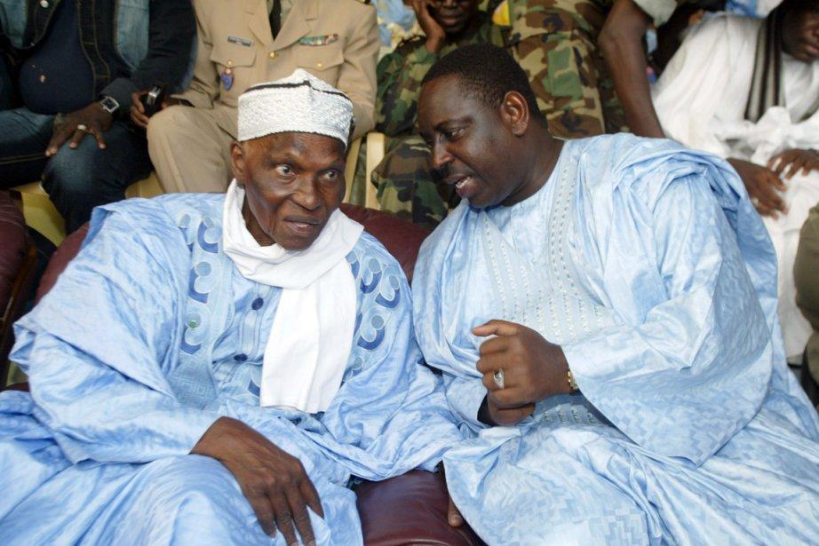 Macky Sall (à droite), ancien proche du président... (Photo: Archives AFP)