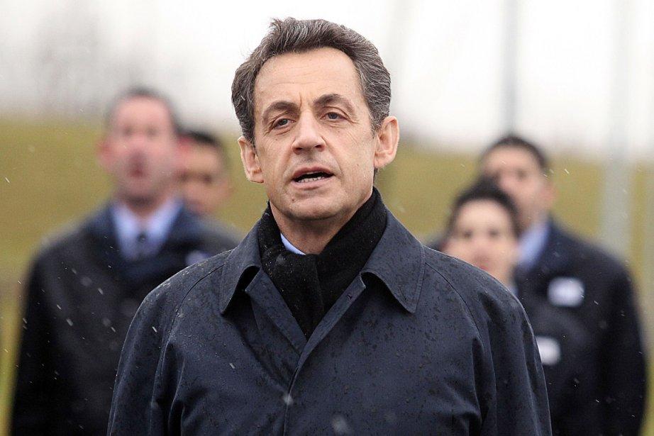 L'actuel président français, Nicolas Sarkozy.... (Photo: François Nascimbeni, AFP)