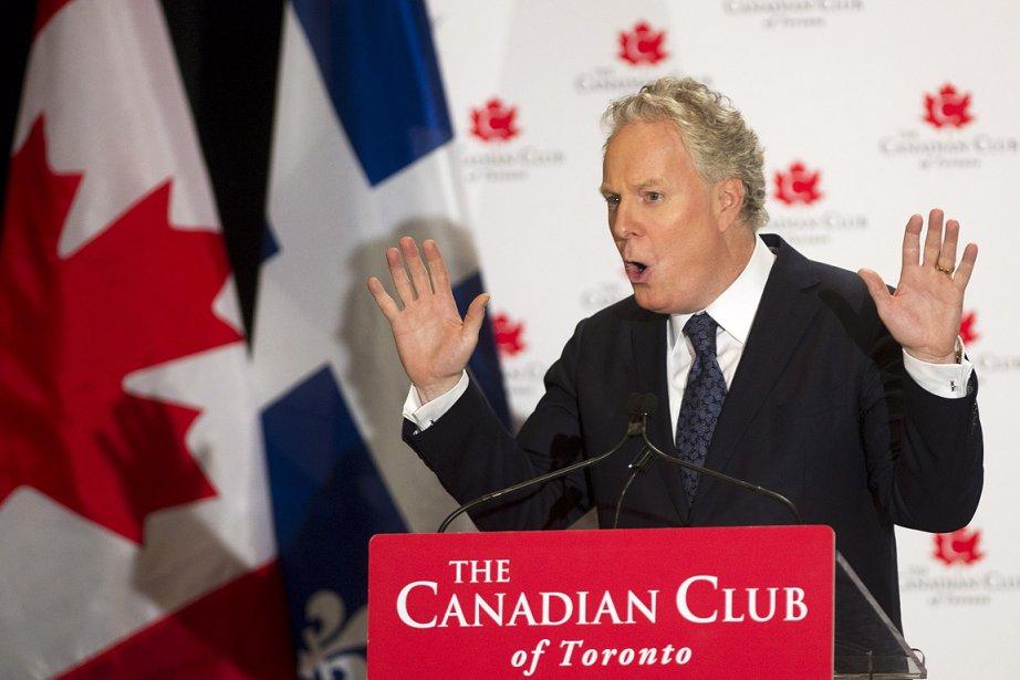 Le premier ministre du Québec, Jean Charest, lors... (Photo: PC)