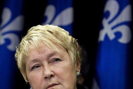 Pauline Marois affirme que le gouvernement Charest n'a... (Photo: Reuters)