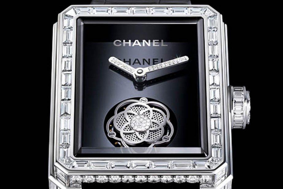 «Première Tourbillon Volant» de Chanel... (Photo fournie par Chanel)