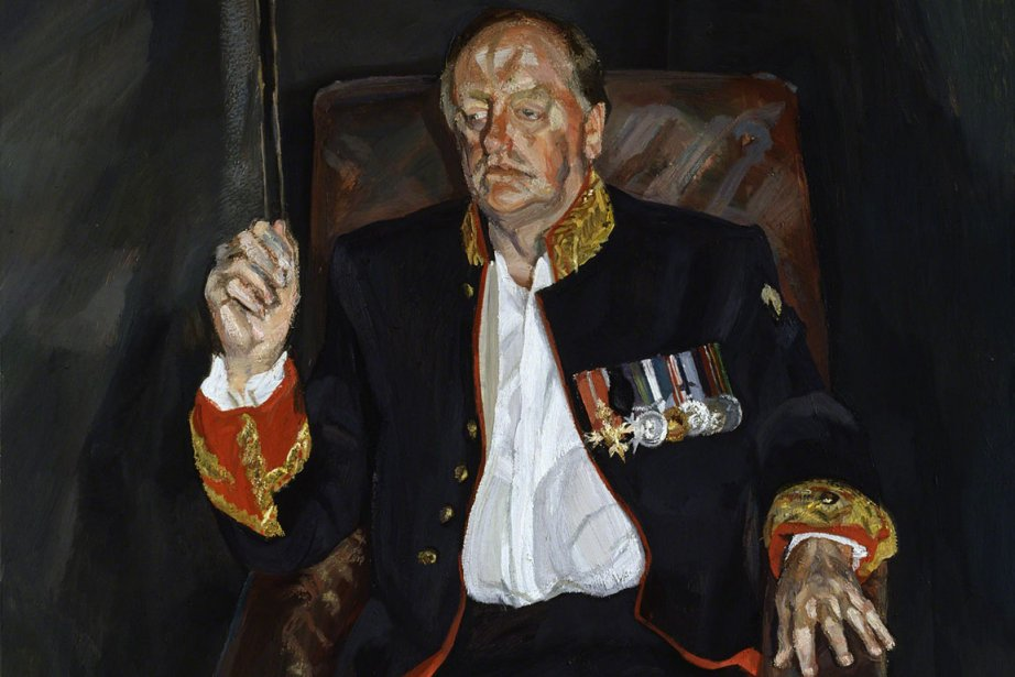 The Brigadier (2003-2004): portrait d'Andrew Parker Bowles, ami... (Photo fournie par les archives Lucian Freud)