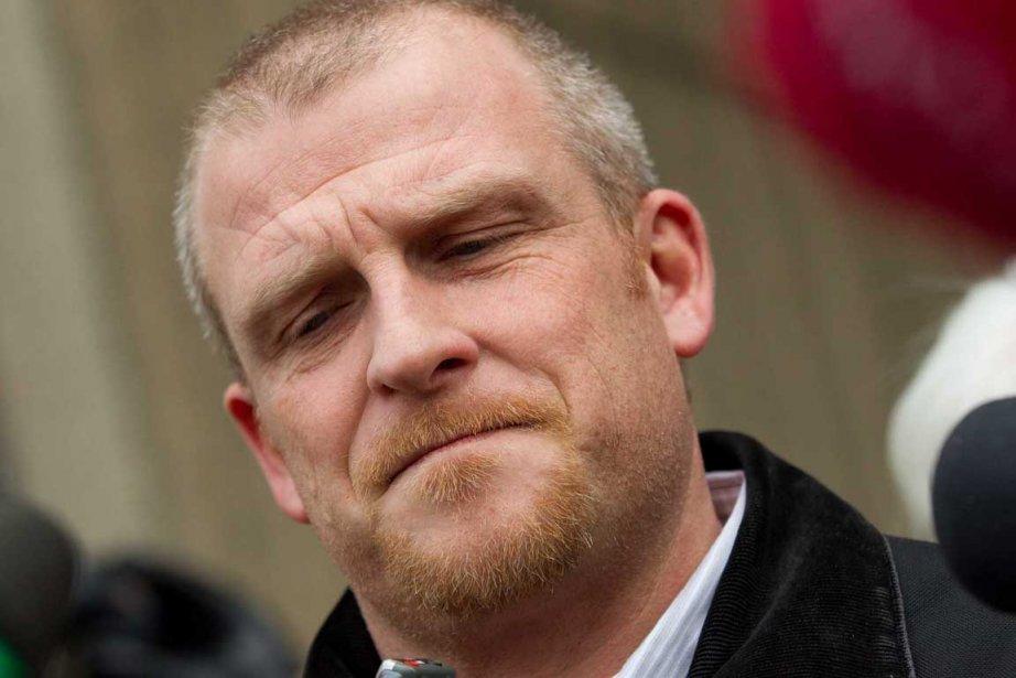 Rodney Stafford, le père de Victoria, s'est adressé... (Photo: Geoff Robins, PC)