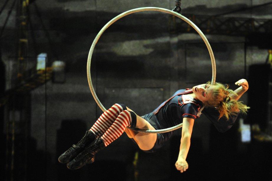 La direction du cirque n'a pas voulu divulguer... (Photo: Bernard Brault, Archives La Presse)