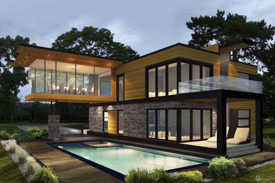 Innover pour se faire remarquer danielle bonneau projets immobiliers for Maison usinee cote