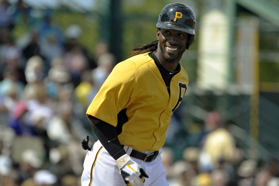 Le voltigeur de centre Andrew McCutchen est l'un... (Photo : archives Reuters)