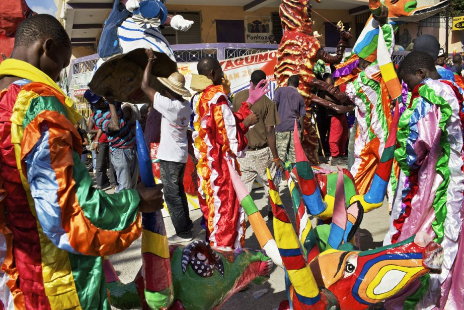 Carnaval de Jacmel... (Photo: Benoit Aquin)