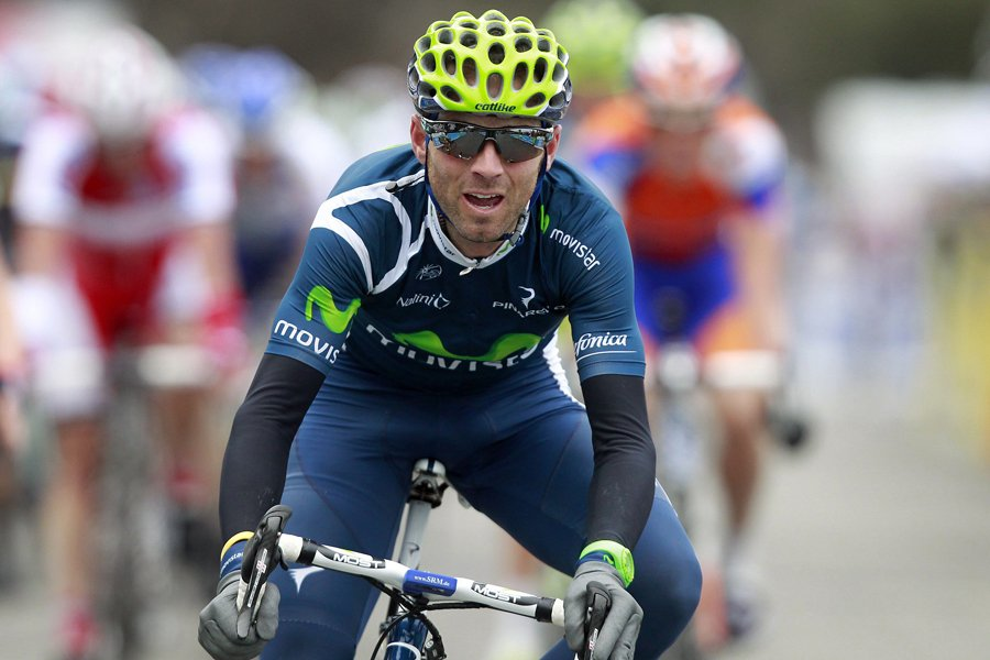 Alejandro Valverde... (Photo: Reuters)