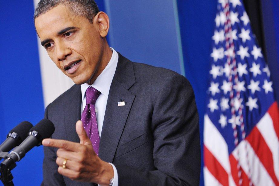 Barack Obama a accusé les républicains de parler... (Photo: Mandel Ngan, AFP)