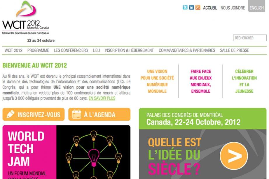 Site du Congrès mondial des technologies de l'information....