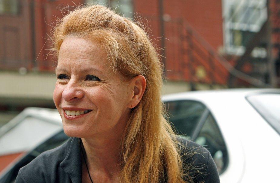 Louise Richer, directrice de l'École nationale de l'humour.... (Photo: Robert Mailloux, La Presse)