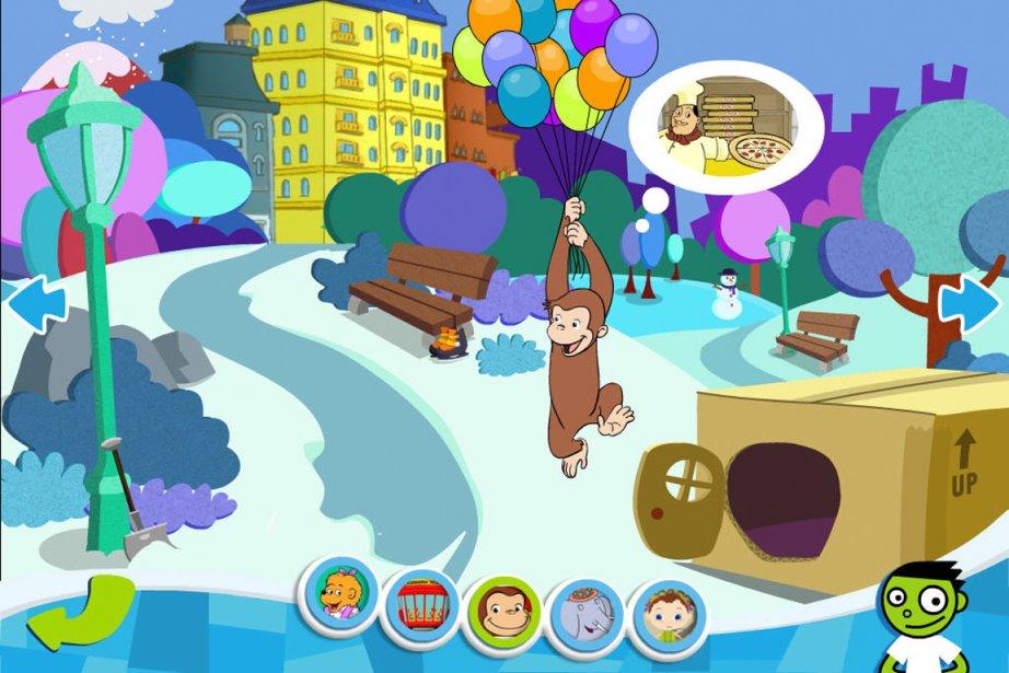 Un exemple de la collaboration entre PBS Play... (Illustration fournie par l'entreprise)