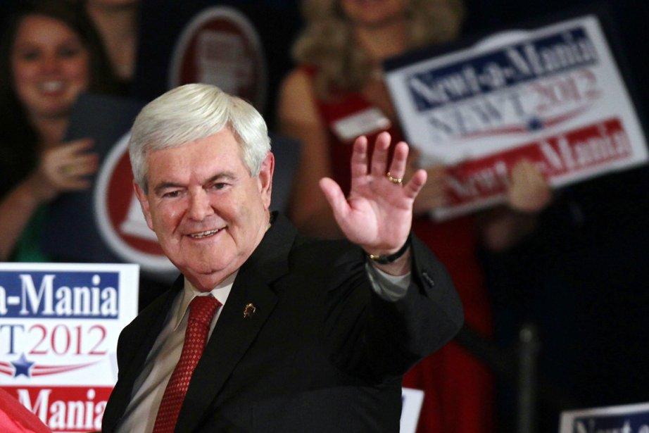 Newt Gingrich, qui s'attendait à remporter hier la... (Photo: John Bazemore, AP)