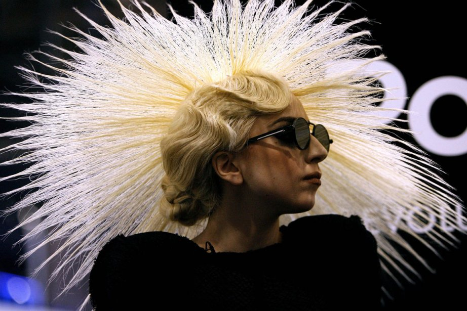 Lady Gaga... (Photo AP)