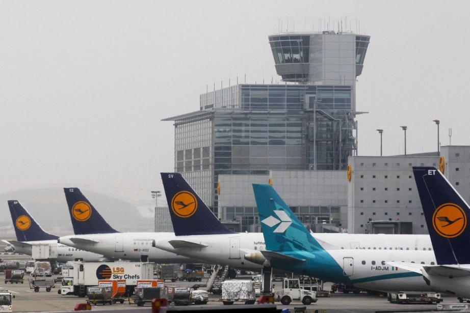 Aéroport de Francfort (Allemagne)... (Photo Reuters)