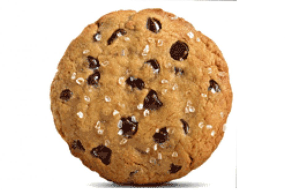 Le biscuit «Chocolate Chip Nookie» est préparé avec... (Photo fournie par The Cookie Department)