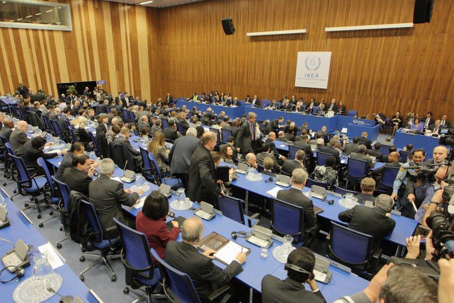 Les 35 pays membres du Conseil des gouverneurs... (Photo : Dieter Nagl, AFP)