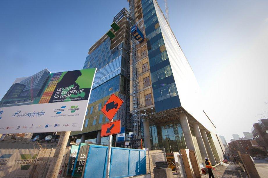 Le chantier du CHUM, à Montréal.... (Photo: André Pichette, La Presse)