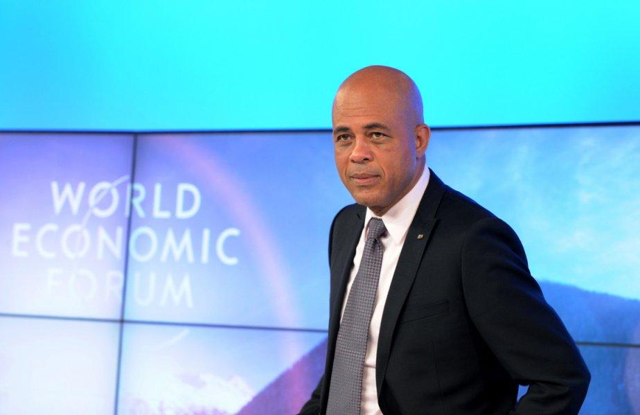 Le président Michel Martelly est isolé depuis la... (Photo: Éric Piermont, AFP)