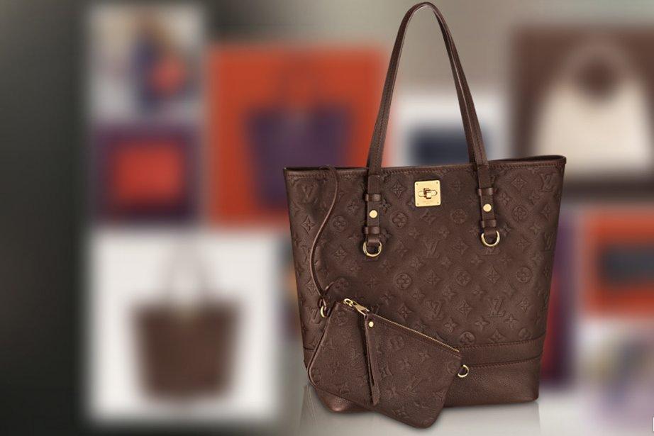 Un sac de la célèbre marque française Louis... (Photo LouisVuitton.com)