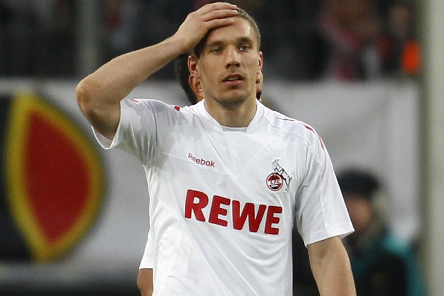 Lukas Podolski... (Photo: Reuters)