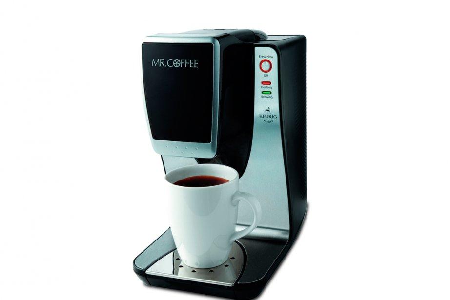 Cafetière à dosettes Mr. Coffee Keurig «Une tasse... (Photo fournie par Mr. Coffee)