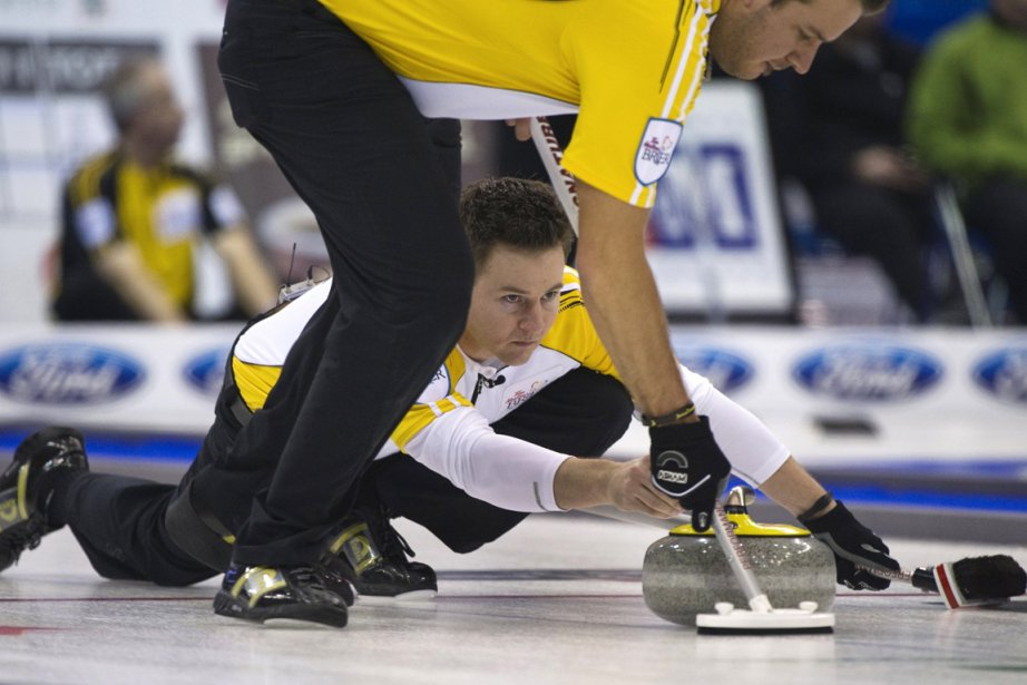 Le Manitobain Rob Fowler a conclu la ronde... (Photo : Andy Clark, Reuters)